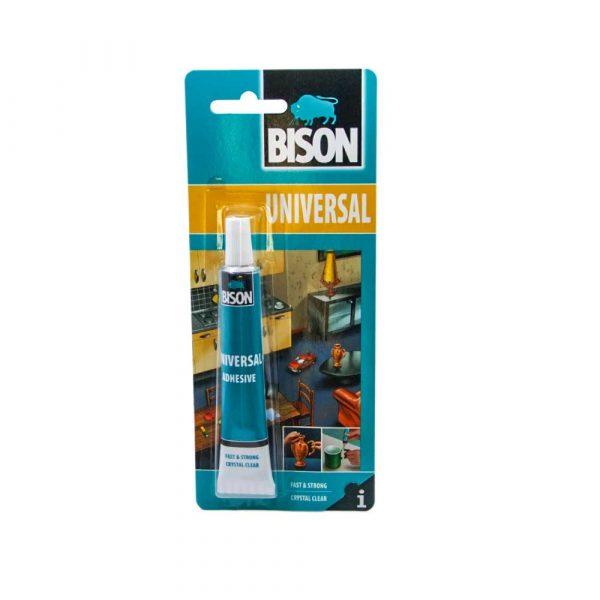 geneltedarik.com-Bison Universal Eşya Ve Malzeme Yapıştırıcı (Güçlü Şeffaf Yapıştırma)