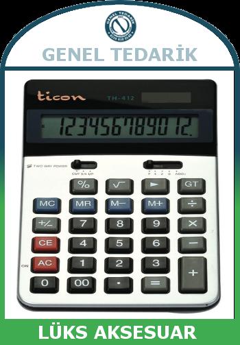 ticon th_412 hesap makinasi