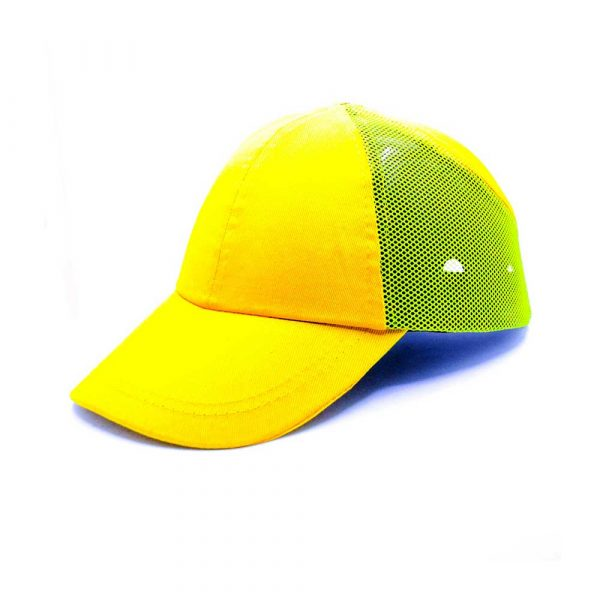 geneltedarik.com-darbe emici iş güvenliği şapkası fileli sarı