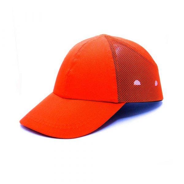 geneltedarik.com-darbe emici iş güvenliği şapkası fileli turuncu