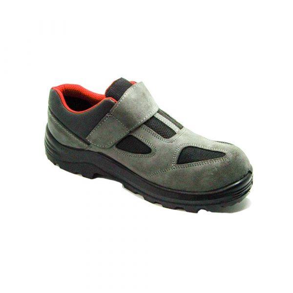 geneltedarik.com-pars 114 gri süet çelik burunlu+çelik ara tabanlı ayakkabı
